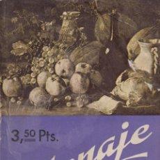 Libros antiguos: MENAJE. AÑO XII. Nº. 144. DICIEMBRE 1942. REVISTA DE GASTRONOMÍA. . Lote 131032212