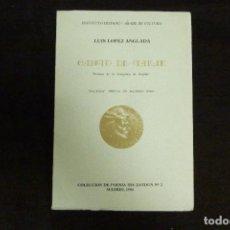 Libros antiguos: LIBRO - CANTO DE TARIK / LUIS LÓPEZ ANGLADA. Lote 131091600
