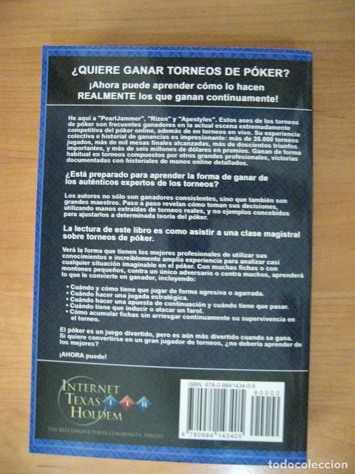Libros antiguos: COMO GANAR TORNEOS DE POKER DE MANO EN MANO vol1 - Foto 2 - 131113168