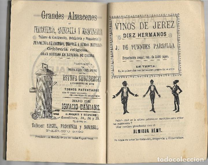 Libros antiguos: ALMANAQUE DIARIO DE BARCELONA AÑO 1907 - VER FOTOS - MUCHA PUBLICIDAD EPOCA - Foto 4 - 131154504