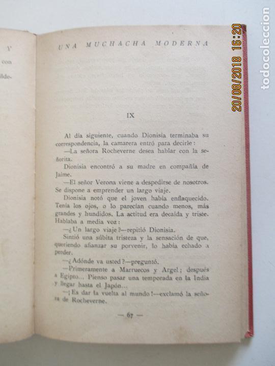 Libros antiguos: LA MUCHACHA MODERNA. J. H. ROSNY. VERSIÓN CASTELLANA DE AUGUSTO RIERA. 1929 - Foto 3 - 131172684