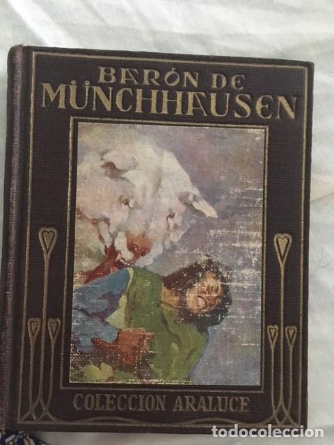 BARON DE MÜNCHHHANUSEN. EDITORIAL ARALUCE. AÑO 1927 (Libros Antiguos, Raros y Curiosos - Literatura Infantil y Juvenil - Otros)