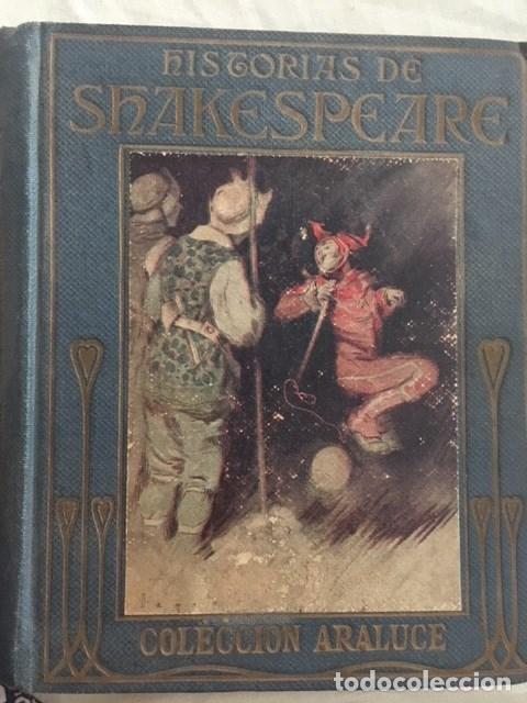 HISTORIAS DE SHAKESPEARE. EDITORIAL ARALUCE. AÑO 1940 (Libros Antiguos, Raros y Curiosos - Literatura Infantil y Juvenil - Otros)