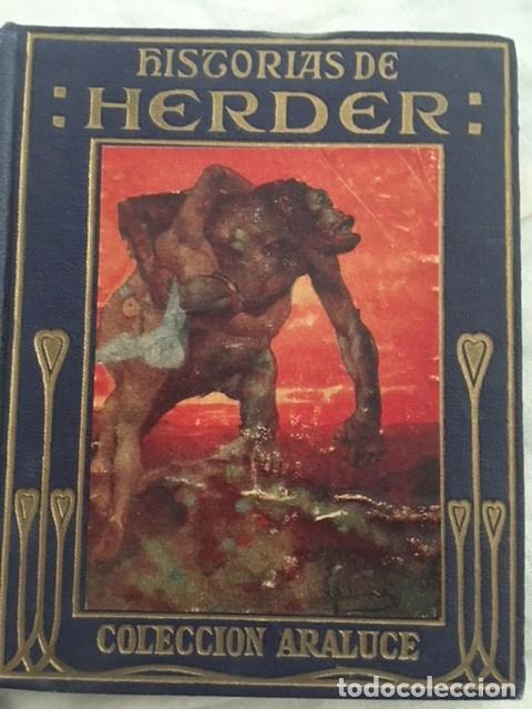 HISTORIAS DE HERDER. EDITORIAL ARALUCE. AÑO 1942 (Libros Antiguos, Raros y Curiosos - Literatura Infantil y Juvenil - Otros)