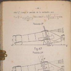 Libros antiguos: PALANCA Y MARTINEZ FORTUN, LUIS: EL VUELO EN AEROPLANO. 1920. Lote 131177284