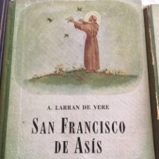 Libros antiguos: SAN FRANCISCO DE ASIS .EDITORIAL ATLANDIDA. . Lote 131177672