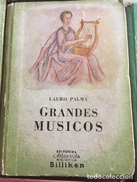 GRANDES MUSICOS.EDITORIAL ATLANDIDA. (Libros Antiguos, Raros y Curiosos - Literatura Infantil y Juvenil - Otros)