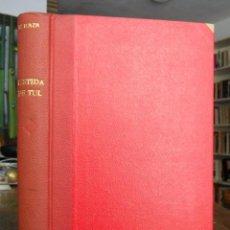 Libros antiguos: VESTIDA DE TUL. CARMEN DE ICAZA.. Lote 131182072