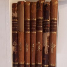Libros antiguos: TIDSSKRIFT FOR KUNSTINDUSTRI. 7 VOLÚMENES. Lote 131330366