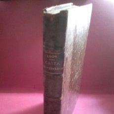 Libros antiguos: CASTA DE HIDALGOS. RICARDO LEÓN , EDITORIAL RENACIMIENTO, MADRID 1912. Lote 131364614