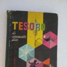 Libros antiguos - TESORO DE CONOCIMIENTOS UTILES 1966 EDITORIAL BRUÑO - 131491414