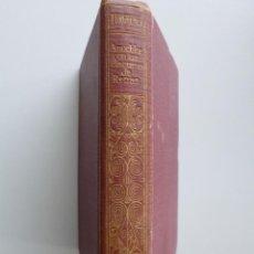 Libros antiguos: TURGUÉNEF // ANUCHKA Y OTRAS NOVELAS // UN DISCURSO DE RENAN // JIMÉNEZ FRAUD EDITOR. Lote 131613754