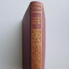 Libros antiguos: VOLTAIRE // CUENTOS ESCOGIDOS // COLECCIÓN GRANADA // JIMÉNEZ FRAUD EDITOR. Lote 131614546