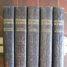 Libros antiguos: GRAN HISTORIA GENERAL DE LOS PUEBLOS HISPANOS. GALLACH. 5 TOMOS. AÑO 1934-1943. (AC1.3). Lote 131631726