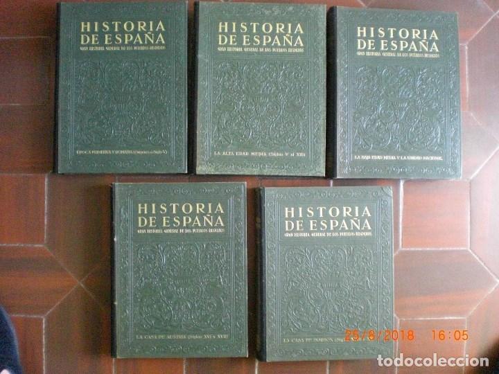 Libros antiguos: GRAN HISTORIA GENERAL DE LOS PUEBLOS HISPANOS. GALLACH. 5 TOMOS. AÑO 1934-1943. (AC1.3) - Foto 2 - 131631726