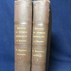 Libros antiguos: HISTORIA DEL MOVIMIENTO REPUBLICANO EN EUROPA 1873 2 TOMOS COMPLETO EMILIO CASTELAR. Lote 131627902