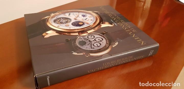 Libros antiguos: LOS SECRETOS DE VACHERON CONSTANTIN,CONTIENE CD,2005. - Foto 12 - 131658454