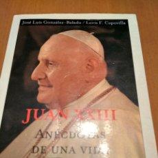 Libros antiguos: JUAN XXIII. Lote 131743158