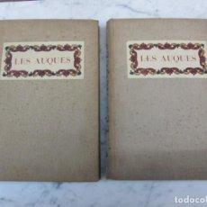 Libros antiguos: LES AUQUES DE J AMADES J COLOMINAS P VILA 1931 BIBLIOFÍLIA. Lote 131765306