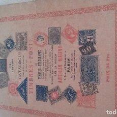 Alte Bücher - CATALOGUE TIMBRES -POSTE - 131925430