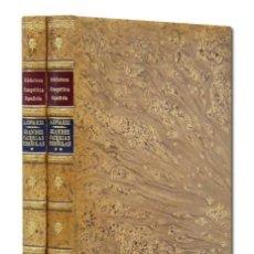 Libros antiguos: ANTONIO COVARSÍ. GRANDES CACERÍAS ESPAÑOLAS. FACSÍMIL 1919. EDIC. VELÁZQUEZ 1978. 2 TOMOS CAZA. Lote 132079170