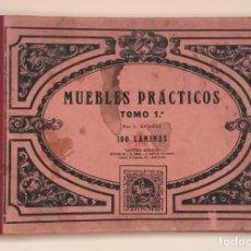 Libros antiguos: A274.- MUEBLES PRACTICOS.- TOMO 1.- J. ARTIGAS. Lote 132105270
