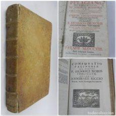 Libros antiguos: HISTORIA PELAGIANA ET DISSERTATIO DE SYNODO V ECUMENICA . IN QUA ORIGENIS AC THEODORI MOPFUEFTCNI PC. Lote 132283154
