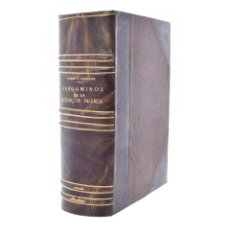 Libros antiguos: INVENTARIO DE LOS PERGAMINOS DEL ARCHIVO CATEDRAL DE VALENCIA - OLMOS Y CANALDA, ELÍAS. Lote 132296430