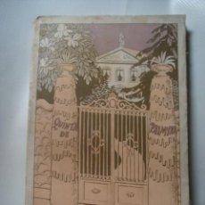 Libros antiguos: RAMÓN GÓMEZ DE LA SERNA - QUINTA DE PALMYRA (BIBLIOTECA NUEVA, 1923). PRESUMIBLE 1ª EDICIÓN.. Lote 132312830