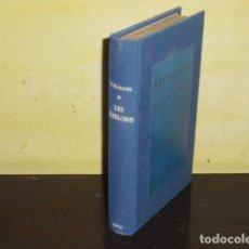 Libros antiguos: LES BALLONS ET LES VOYAGES AÉRIENS - 1874 -. Lote 132360686
