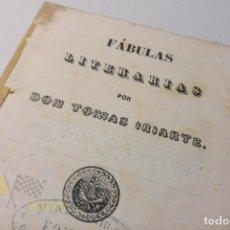 Libros antiguos: FÁBULAS LITERARIAS POR DON TOMAS IRIARTE - VALLADOLID -1855. Lote 132455950