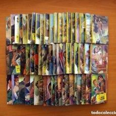 Libros antiguos: FAVORITA - EDITORIAL VALENCIANA AÑOS 50 -COLECCIÓN COMPLETA, 60 NOVELAS NUEVAS, VER FOTOS INTERIORES. Lote 132467326