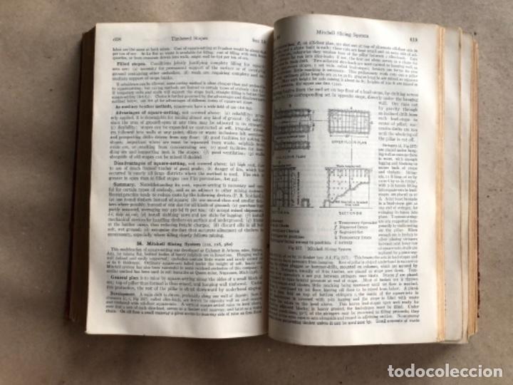 Libros antiguos: MINING ENGINEERS HANDBOOK. ROBERT PEELE. VOL. 1. 1927. LIBRO INGENIERO DE MINAS. - Foto 6 - 132486110