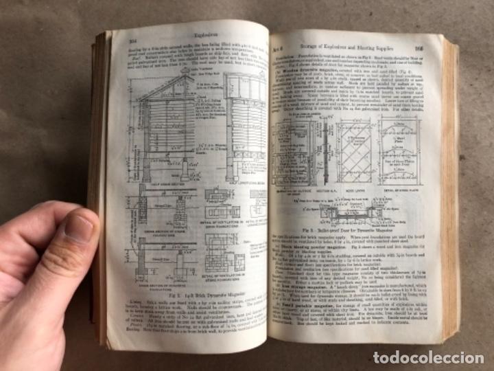 Libros antiguos: MINING ENGINEERS HANDBOOK. ROBERT PEELE. VOL. 1. 1927. LIBRO INGENIERO DE MINAS. - Foto 7 - 132486110