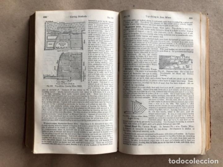 Libros antiguos: MINING ENGINEERS HANDBOOK. ROBERT PEELE. VOL. 1. 1927. LIBRO INGENIERO DE MINAS. - Foto 8 - 132486110