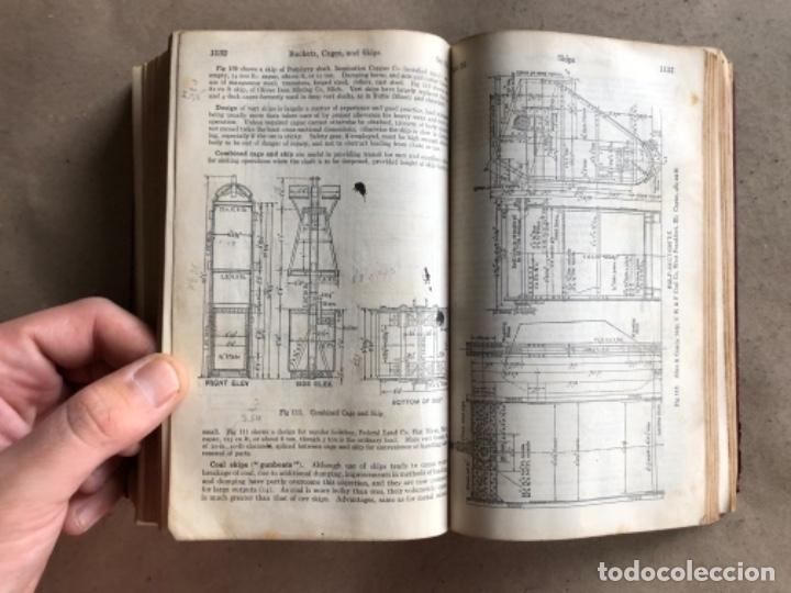 Libros antiguos: MINING ENGINEERS HANDBOOK. ROBERT PEELE. VOL. 1. 1927. LIBRO INGENIERO DE MINAS. - Foto 11 - 132486110
