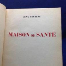 Libros antiguos: JEAN COCTEAU. MAISON DE SANTÉ. 1926. Lote 132549006