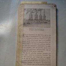 Libros antiguos: CATÁLOGO OFICIAL DE LA PARTICIPACIÓN DE ITALIA EN LA EXPOSICIÓN INTERNACIONAL DE BARCELONA DE 1929.. Lote 132572918