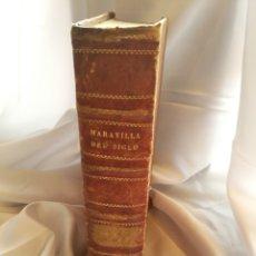 Libros antiguos: MARAVILLA DEL MUNDO, AÑO 1852, TOMO I Y II EN EL MISMO LIBRO, WENCESLAO AYGUALS DE IZCO, PARIS.. Lote 132600738