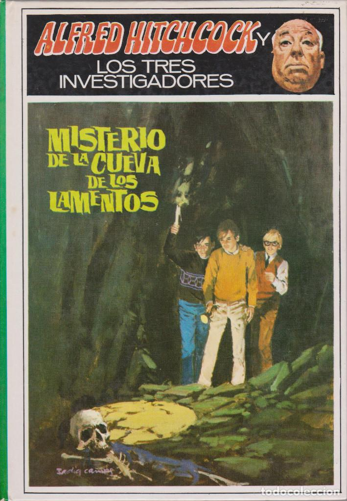 LOS TRES INVESTIGADORES. MISTERIO DE LA CUEVA DE LOS LAMENTOS. ALFRED HITCHCOCK (Libros Antiguos, Raros y Curiosos - Literatura Infantil y Juvenil - Otros)