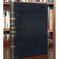 Libros antiguos: ESTUDIOS CRÍTICOS. Lote 132655690