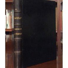Libros antiguos: ESTUDIOS LITERARIOS. Lote 132655794