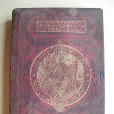 Libros antiguos: TRATADO COMPLETO DE CERRAJERÍA. JUAN MOLINAS. LAMINAS. Lote 132662354