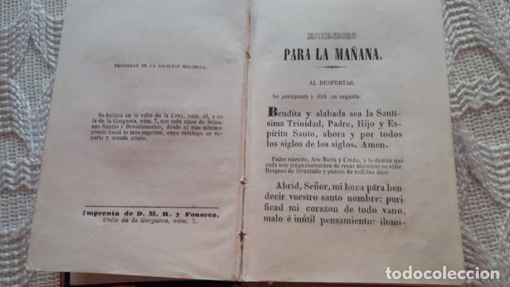 Libros antiguos: devocionario romano - Foto 3 - 132684134