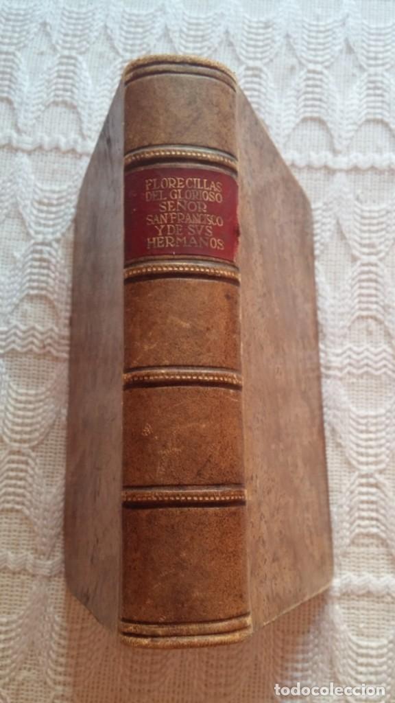 LIBRO RELIGIOSO DE SAN FRANCISCO (Libros Antiguos, Raros y Curiosos - Bellas artes, ocio y coleccionismo - Otros)