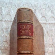 Libros antiguos: LIBRO RELIGIOSO DE SAN FRANCISCO. Lote 132684862