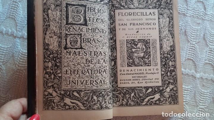 Libros antiguos: Libro religioso de San Francisco - Foto 2 - 132684862