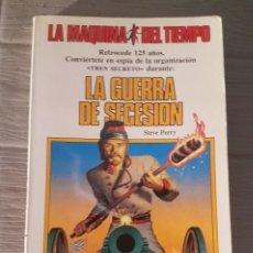 Libros antiguos: LIBRO JUEGO LA MÁQUINA DEL TIEMPO TIMUN MAS. Lote 132685082