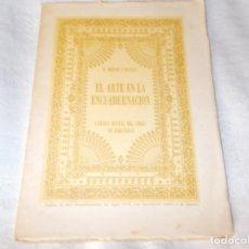 Old books - EL ARTE EN LA ENCUADERNACIÓN - 132686406