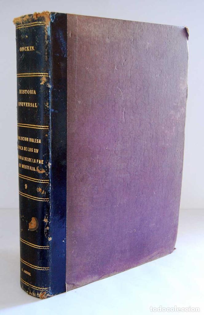 HISTORIA UNIVERSAL. TOMO 9 - GUILLERMO ONCKEN. MONTANER Y SIMÓN. 1894 (Libros Antiguos, Raros y Curiosos - Historia - Otros)